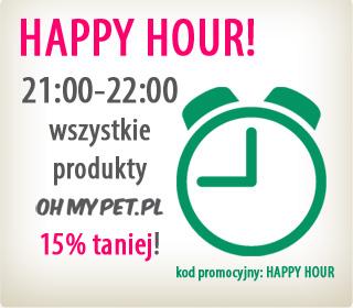 HAPPY HOUR - tylko przez godzinę 15% rabatu